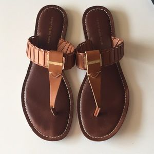 Tommy Hilfiger leather sandals